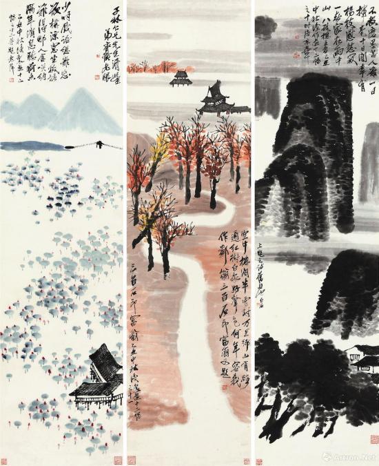 《山水十二屏》估价5亿 或成东方艺术