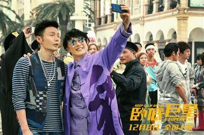 《卧底巨星》剧组深圳路演 李荣浩到场互动