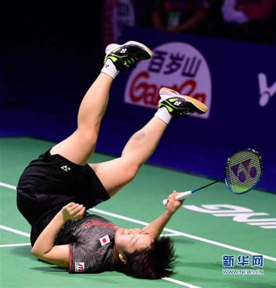 (体育)(1)羽毛球――2017中国公开赛:日本选手山口茜女单夺冠