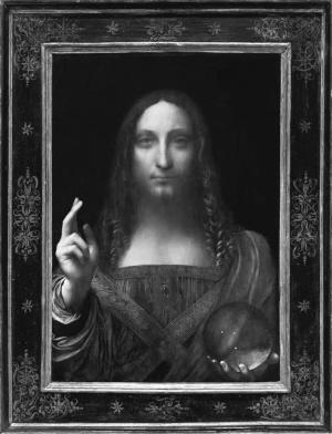 纽约佳士得,19分钟竞价后,《救世主》成全世界最贵的艺术品