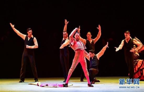 (文化)(1)西班牙弗拉明戈舞剧《卡门》在郑州上演