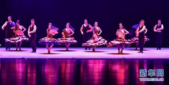 (文化)(3)西班牙弗拉明戈舞剧《卡门》在郑州上演