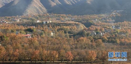 四川:金川河谷景色美