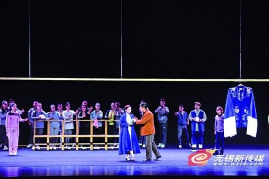 第十九届上海艺术节无锡分会场闭幕大戏上演