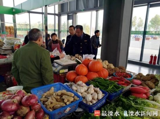 区市场监管局给农贸市场