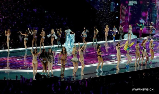 CHINA-SHANGHAI-VICTORIA'S SECRET-FASHION SHOW (CN)