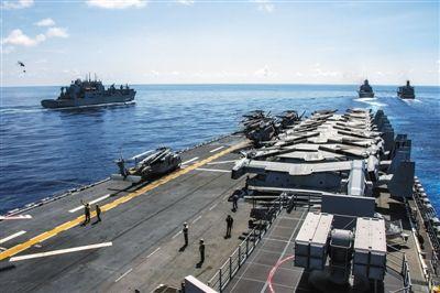 新闻分析:美海军距离355艘军舰目标有多远