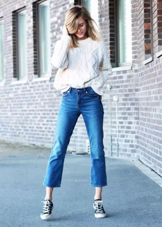 九分裤 运动鞋 秋冬最百搭好穿的时髦套路