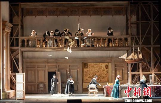 歌剧《法斯塔夫》探班:实力唱将展现幽默一面