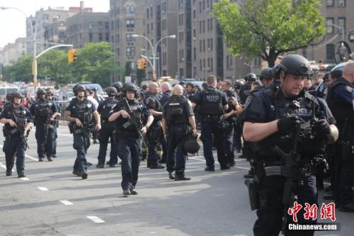图3 资料图:纽约警方。