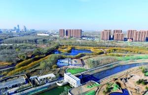 北京东坝北西区棚改空间七成建绿地