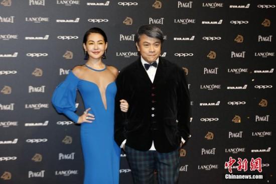 11月25日,第54届金马奖颁奖典礼在台北举行.图为台湾艺人蔡康永