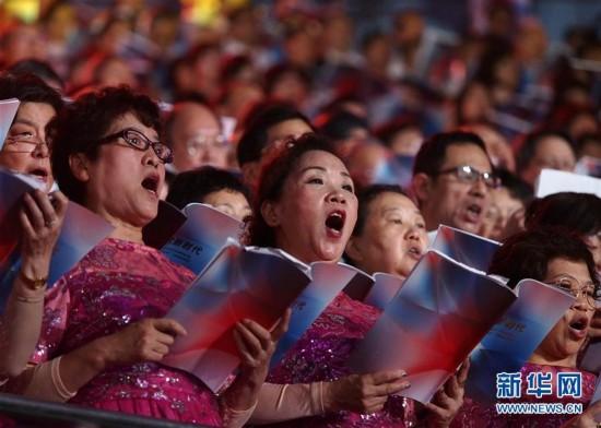 (文化)(2)2017年上海市民合唱大赛在沪举行展演