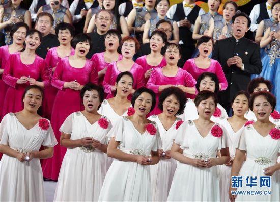 (文化)(3)2017年上海市民合唱大赛在沪举行展演
