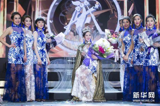 (新华视界)(1)2017年多伦多华裔小姐选美冠军出炉