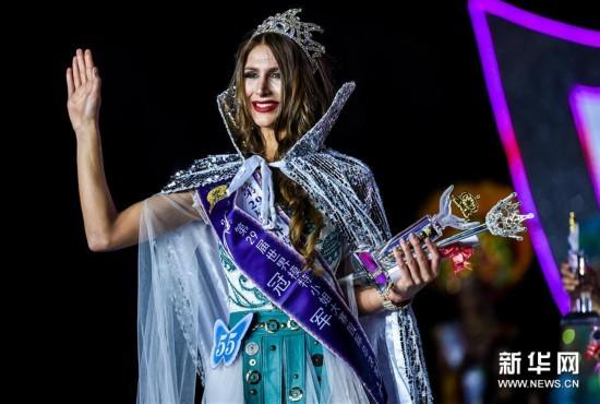 (文化)(3)乌克兰小姐摘得第29届世界模特小姐大赛桂冠