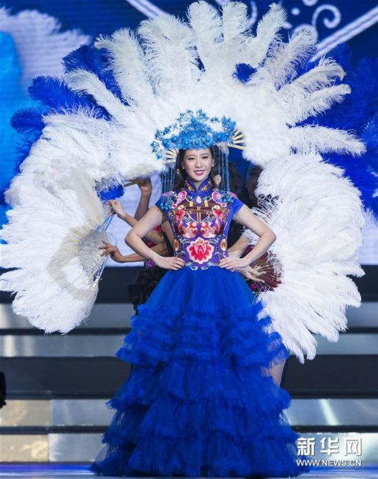 (新华视界)(4)2017年多伦多华裔小姐选美冠军出炉