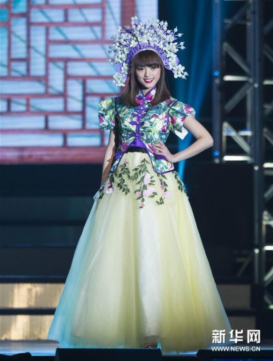 (新华视界)(5)2017年多伦多华裔小姐选美冠军出炉