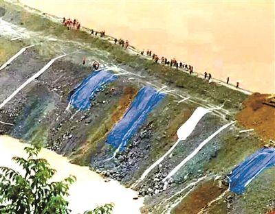 水电站截流3天破堰泄洪