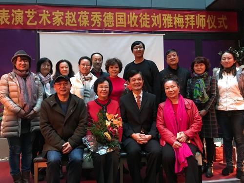 艺术家赵葆秀希望通过这次海外收徒,播撒下弘扬京剧艺术种子
