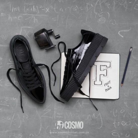 鞋履来自Puma X Fenty 售价160美元 可从http://us.puma.com购买