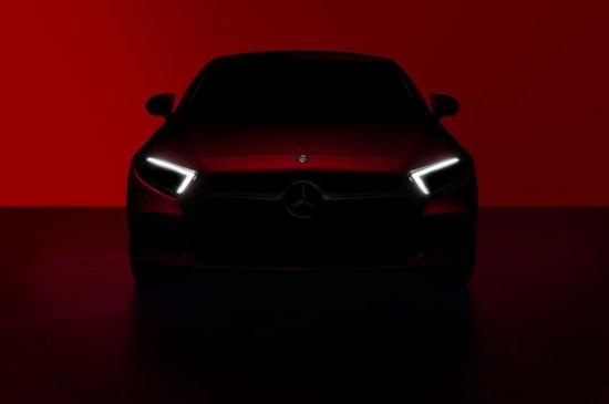 第三代奔驰CLS预告图公布 洛杉矶车展首秀