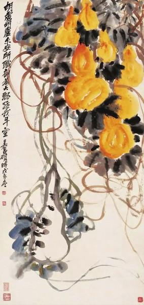 吴昌硕与齐白石,凭借独具辨识度的艺术语言领时代风骚
