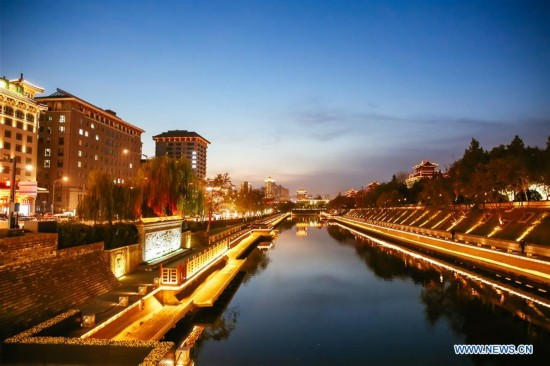 CHINA-XI'AN-CHENGDU-HIGH SPEED RAILWAY-SCENIC SPOTS(CN)