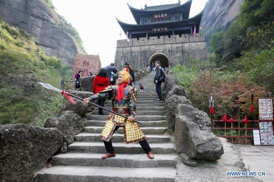 CHINA-XI'AN-CHENGDU-HIGH SPEED RAILWAY-SCENIC SPOTS(CN)