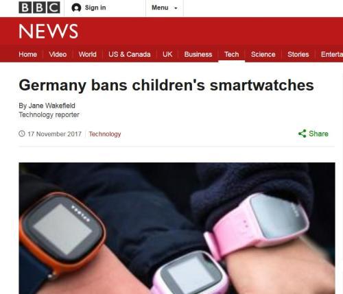 還買給孩子?部分兒童智能手表存隱患成監聽設備