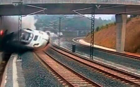西班牙南部一辆火车脱轨 已造成21人受伤--陕西频道