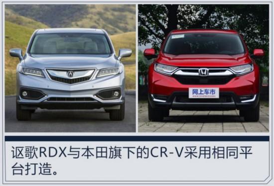 讴歌全新RDX明年国产 与本田新CR-V同平台-图1