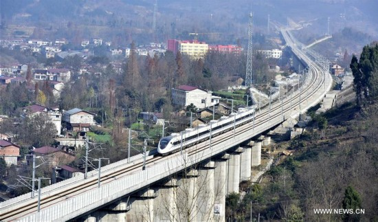#CHINA-XI'AN-CHENGDU-HIGH SPEED RAILWAY (CN)