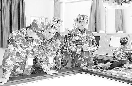 海军大连舰艇学院水面舰艇作战实验室投入使用巴比豆空间