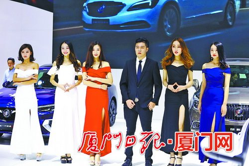 80余个品牌800款新车亮相厦门国际车展持续至下周一