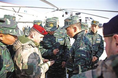 """中俄""""合作-2017""""联合反恐演训在银川启动"""