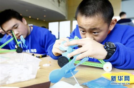 (社会)(1)上海:手脑一起动 科普创新探未来