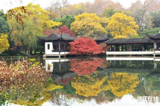 杭州:西湖景色美如画