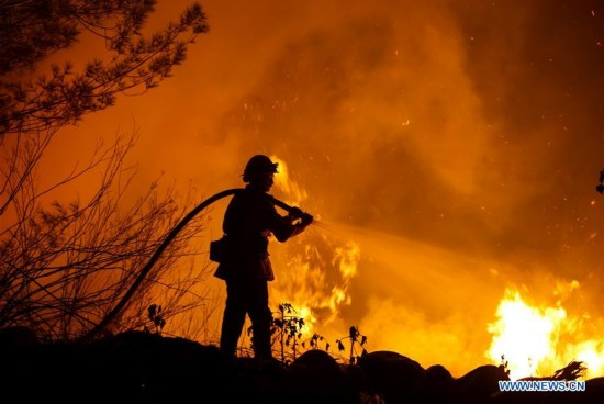 California governor declares state of emergency to battle fast moving fire