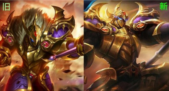 King glory six hero visuals of the skin A new version of hou yi militantly proclaim