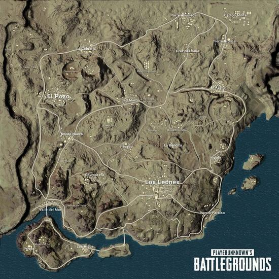 Desert desperately map named Miramar officially released