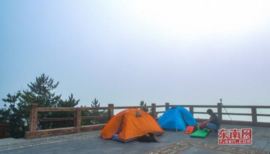 德化九仙山景区获评省级露营公园