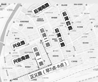 12日起,武汉市13条道路通行方式改变