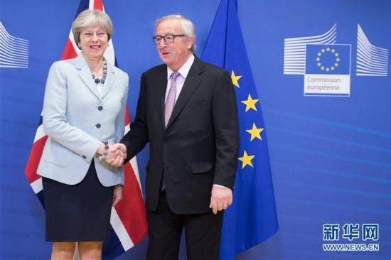 """英国""""脱欧""""谈判已取得""""足够进展"""" 将开启第二阶段"""
