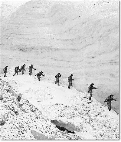 """""""离别心语""""留在5283米雪山上反恐王国"""