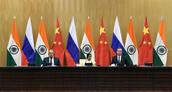 INDIA-NEW DELHI-THE 15TH TRILATERAL MEETING-CHINA-RUSSIA