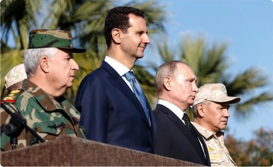 SYRIA-LATAKIA-BASHAR AL-ASSAD-RUSSIA-VLADIMIR PUTIN-MEETING