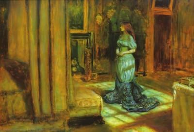 济兹根据传说所写成叙事诗 《圣阿格尼斯前夜》
