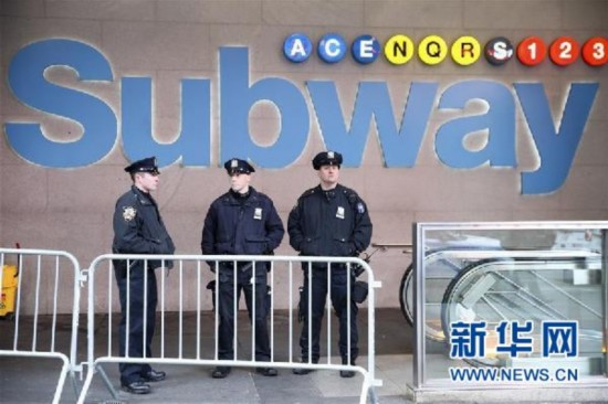 (国际)(11)美国纽约曼哈顿发生爆炸4人受伤