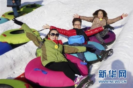 """雪域高原""""滑动""""欢乐冰雪季"""